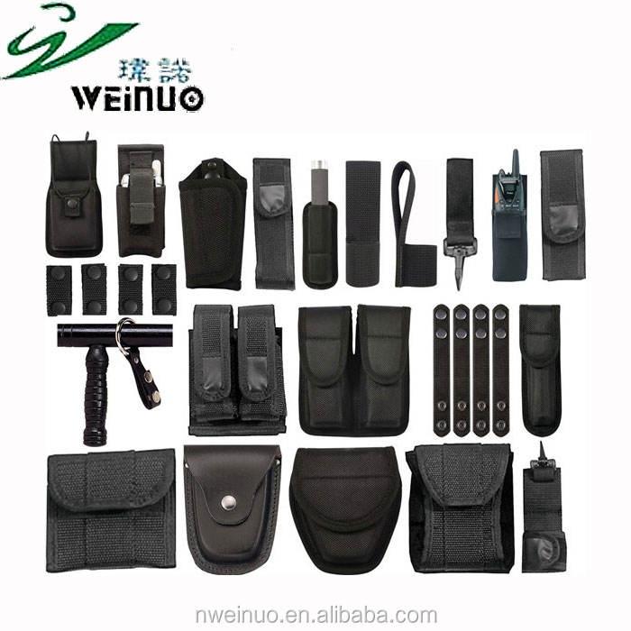 Из тисненой кожи для использования в полиции оружейный ремень для офицера