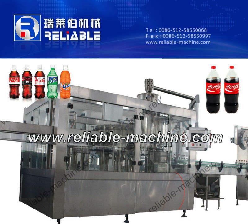 Carbonatada jugo máquina de producción para Gas fruta máquina de llenado de agua