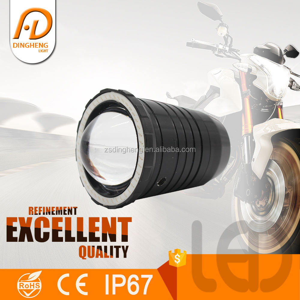 10 W meilleur Chine <span class=keywords><strong>Fournisseur</strong></span> Daymaker moto led <span class=keywords><strong>projecteur</strong></span> phares