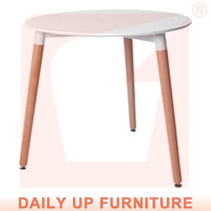80*80cm 작업 장소 차 책상 원형 커피 테이블 MDF 데스크탑 나무 프레임 eames 식탁 작은 가족 가구