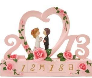 Venda quente natural resina artesanato festa de casamento com amor lembranças de casamento jacarta data personalizado