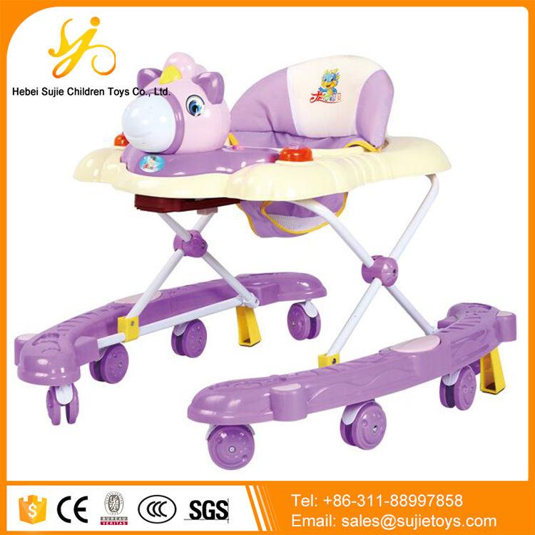 Brinquedos de design marcante para caminhar bebês/estação de atividade do bebê walker/centro de atividade do bebê walker
