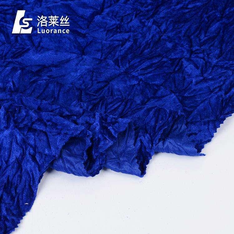 Buen Precio de elegante terciopelo spandex brocado para la ropa de moda