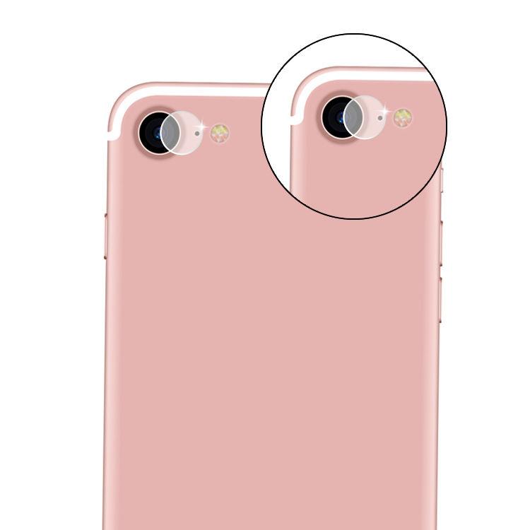 OEM lente de la Cámara de vidrio templado para iPhone 8 8 más 7 7 más cámara trasera protector de pantalla