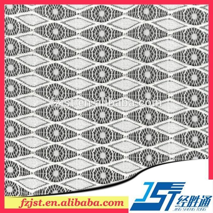 ropa interior de la muestra de telas de encaje elástico tailandia hilar telas de encaje para la venta