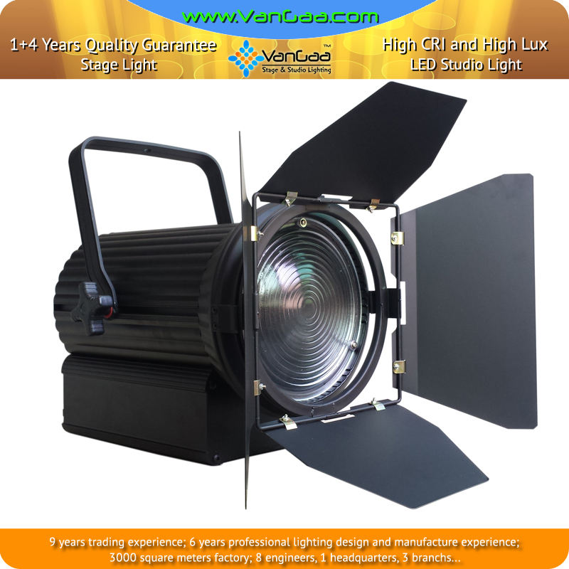 3200k 5600k-Дополнительный затемнения водить Френеля пятно света 250w для ТВ и кино Фото