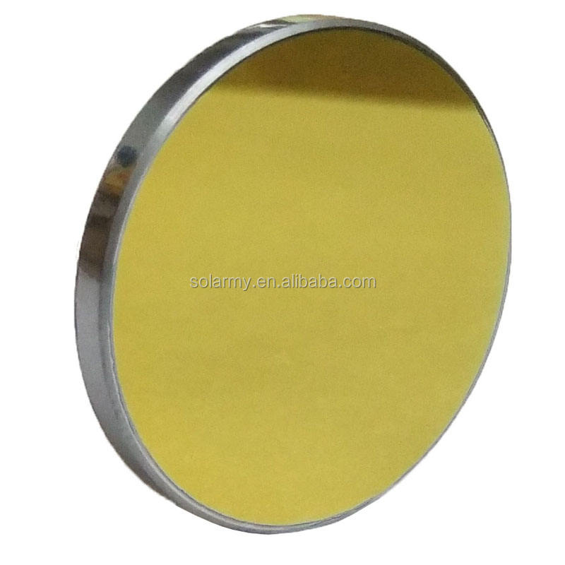 30mm Diameter silicon material laser cut acrylic reflection mirror for laser cutting
