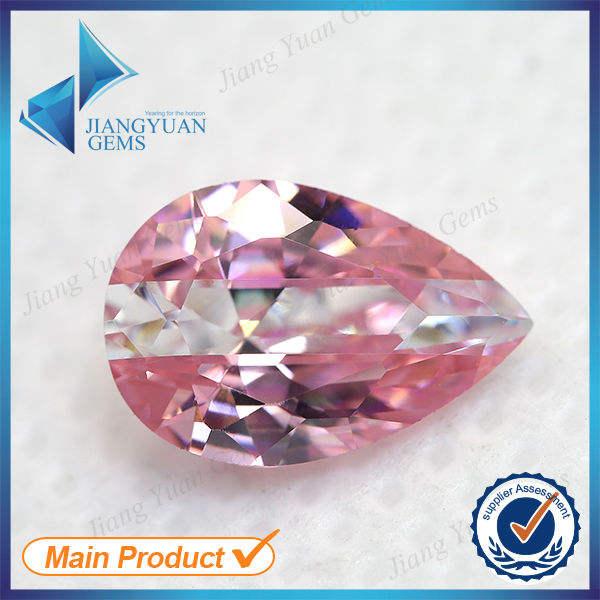 pêra rosa e branco pedra sintética subseção cor cz