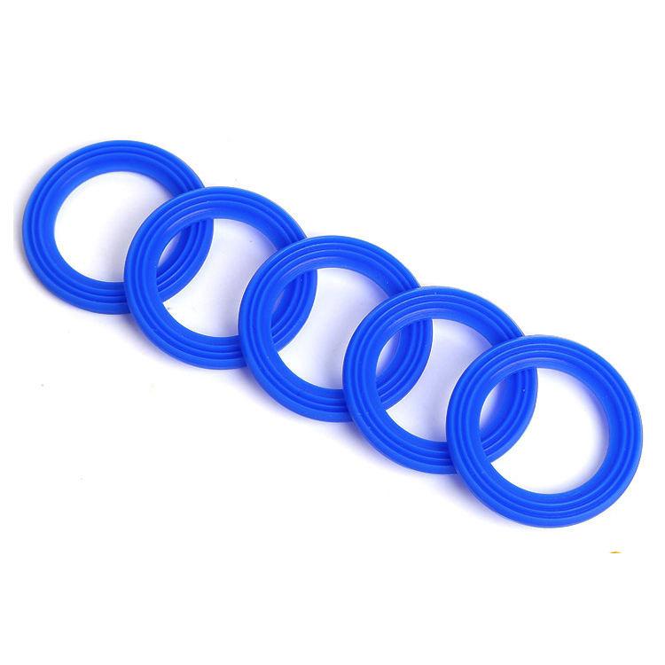 Vaso di vetro anello di tenuta in teflon o silicone o anelli