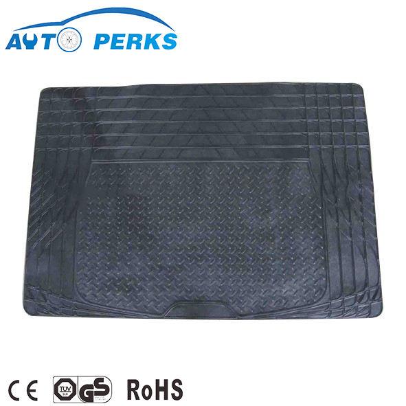 Alta calidad Auto parte coche Trunk Mat Boot liner ajuste universal PVC estera del cargador del coche