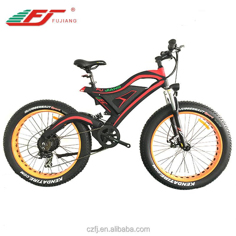 강력한 <span class=keywords><strong>산</strong></span>악 전기 지방 자전거 전자 자전거 브러시리스 모터