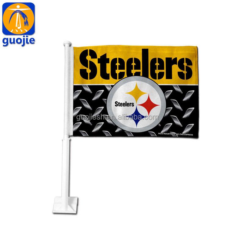Пользовательские печатные окна автомобиля флаги флаг клуба рекламного использования