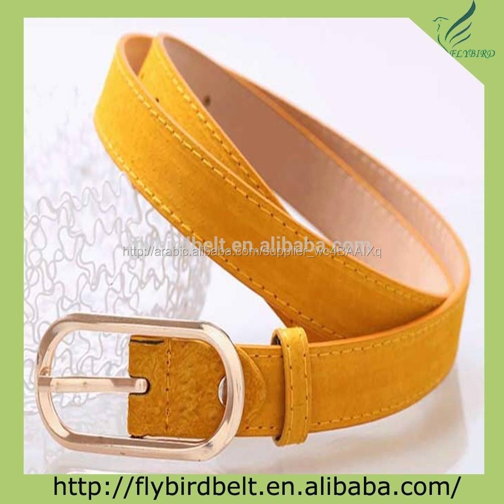 أزياء حزام من الجلد 2012 اللون البرتقالي للفتيات