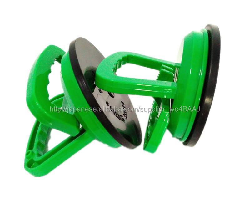 ガラス真空リフター吸込揚ガラスハンドリング機駆動吸引パッドシングルレバーつき吸盤123mmラバーカップガラス