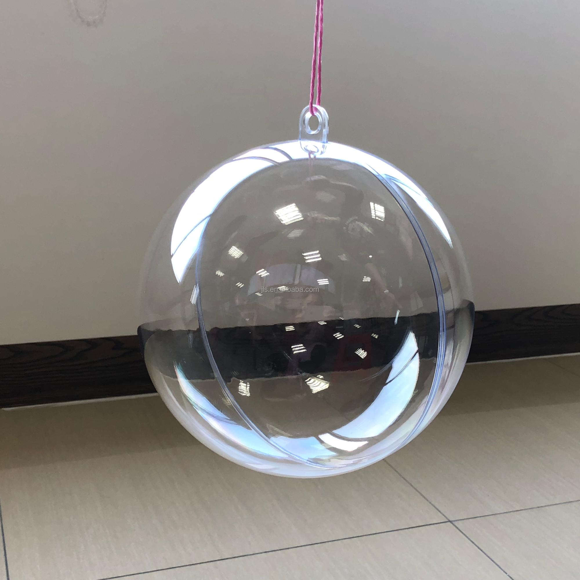 wholesale 55 Design style two-half Openable 200mm christmas ball ornaments