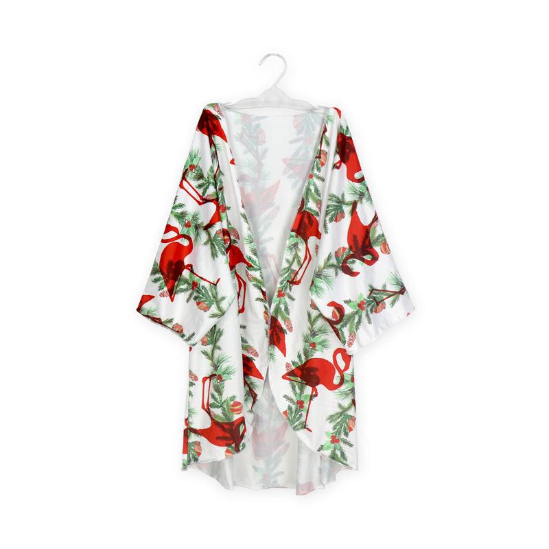 Новые красивые печати блок печати кимоно случайные кимоно из полиэстера халаты оптовая продажа