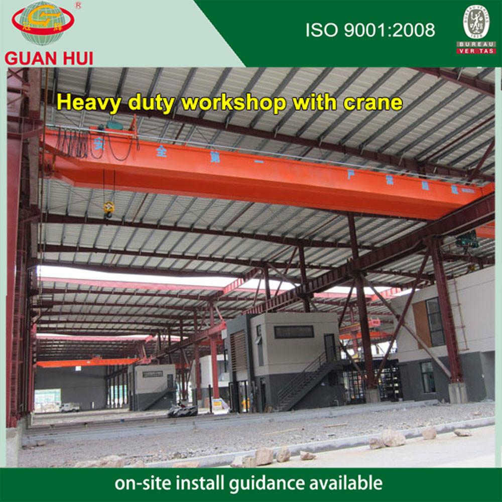 Fabricante Alibaba ligera estructura de acero de la construcción de China (X030)