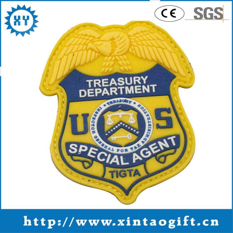 Promozionale disegno emblema personalizzato NOI uniforme pvc distintivo produttore