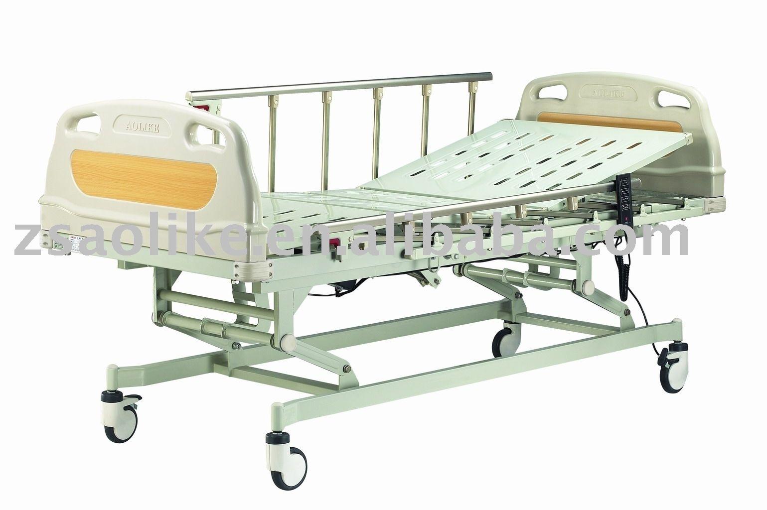 Три функции электрический регулируемая кровать больничная койка