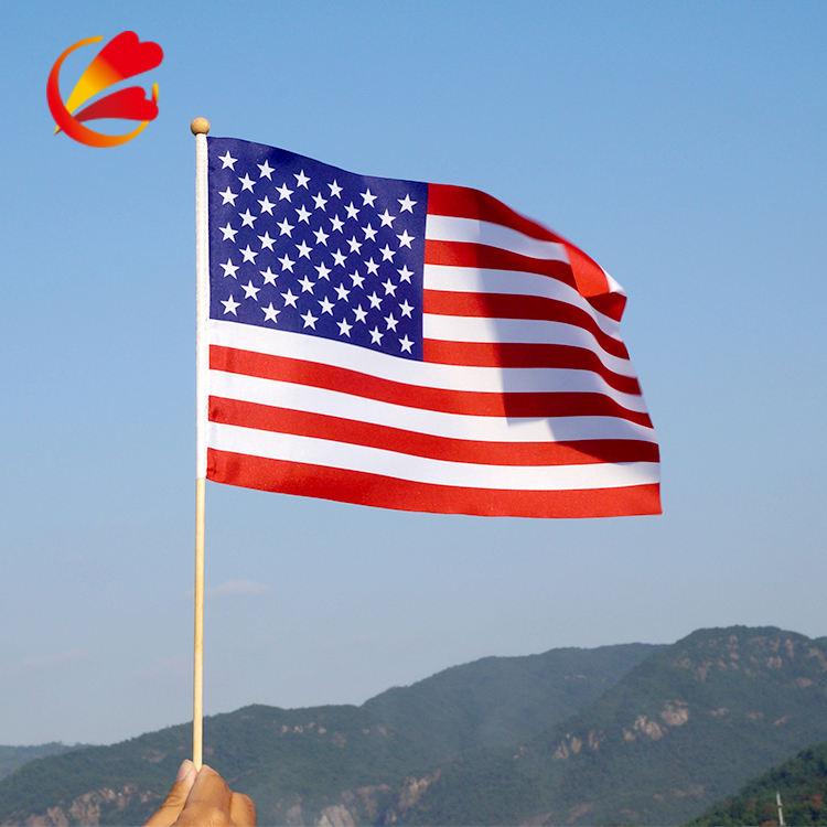 Оптовая пользовательского американский флаг, маленький флаг, флаг Спорт