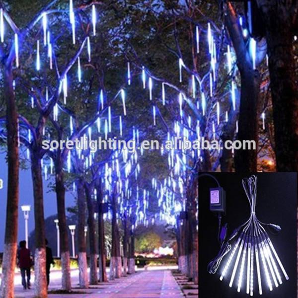防水24vsmd3528装飾的なクリスマスledの流星群のツリー装飾的なライト