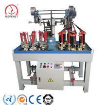 rope braiding machine braiding cord machine 12, 16, 24, 32 spindle rope braiding machine rope braider