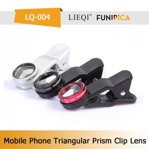 Mercado de China triángulo prism seflie <span class=keywords><strong>lente</strong></span> para el teléfono elegante cámara de fotos