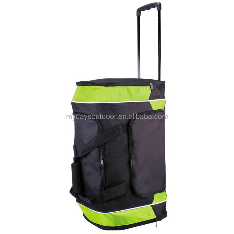 Gửi hành lý Cán Vải Thô xe đẩy túi du lịch tote Mang Theo-On đối với Ngắn Hạn Các Chuyến Đi Cuối Tuần Chuyến Tham Quan