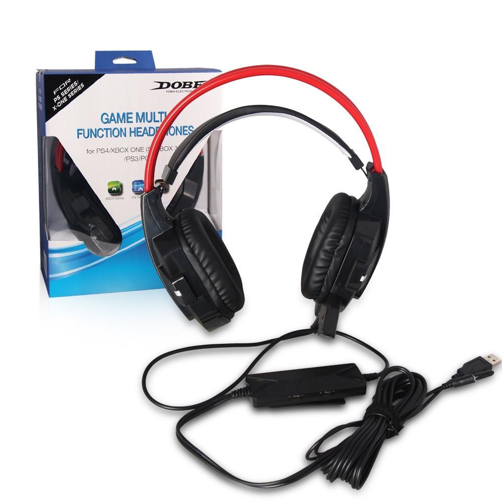 5 EM 1 Multi Stereo Gaming Headset para PS4/PS3/xbox/Xbox/360 Jogo PC fone de ouvido