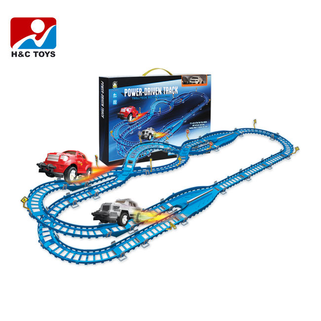 High Speed <span class=keywords><strong>Elektronische</strong></span> <span class=keywords><strong>Zug</strong></span> Eisenbahn Spielzeug Rennstrecke Set HC303717
