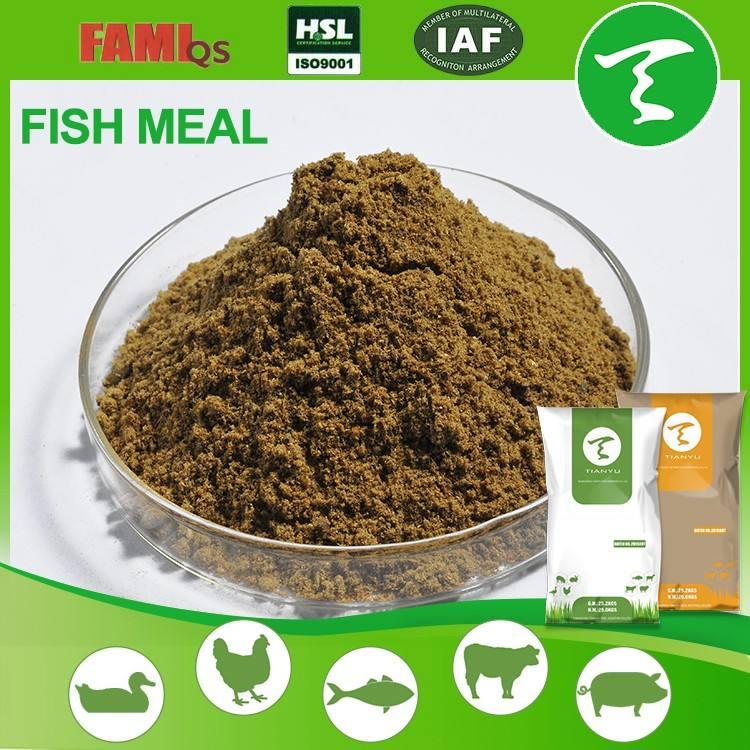 البخار المجففة وجبة السمك للحيوان الأعلاف ، مصنوعة من 100% البحر الأسماك