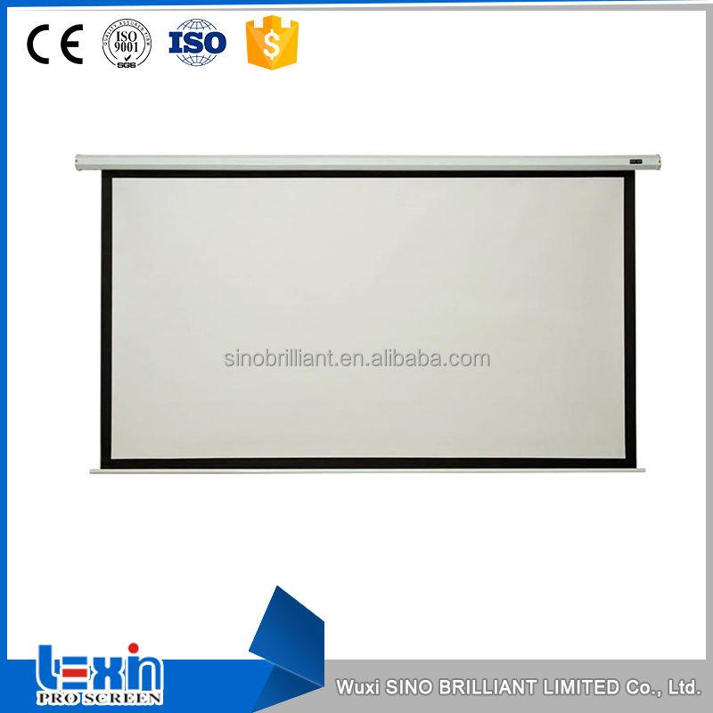 Chine fournir pour vente électrique home cinéma multimédia <span class=keywords><strong>projecteur</strong></span> écran