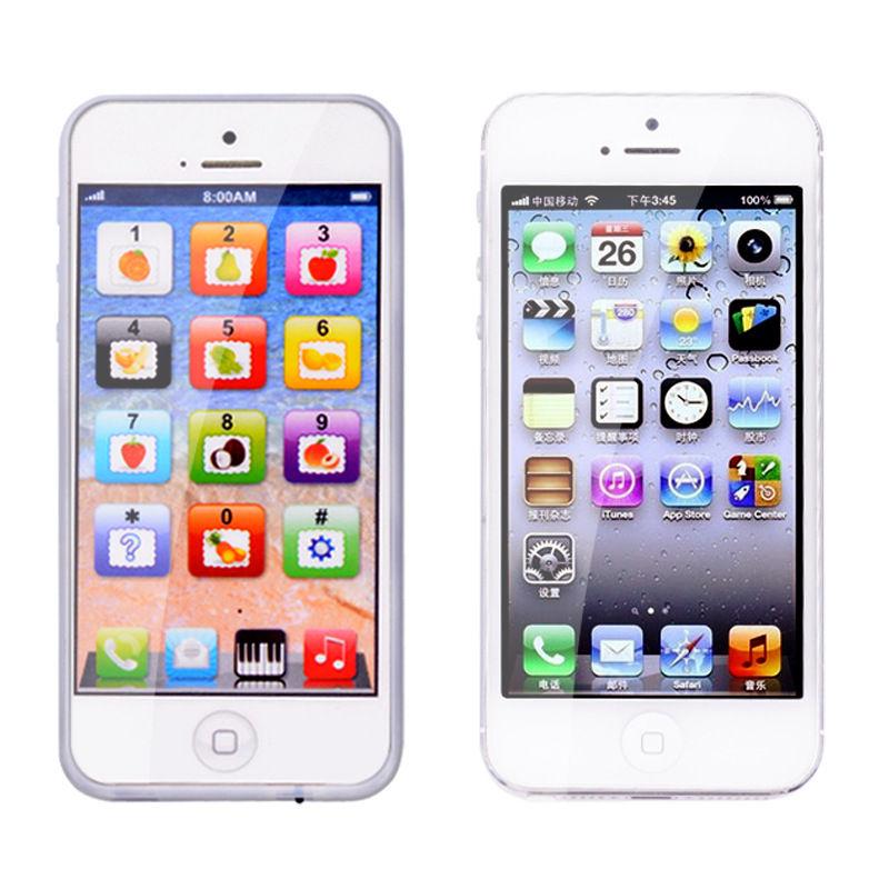 y-teléfono inglés Touch aprendizaje ordenador celular modelo juguetes educativos tempranos para los niños Y BEBÉ