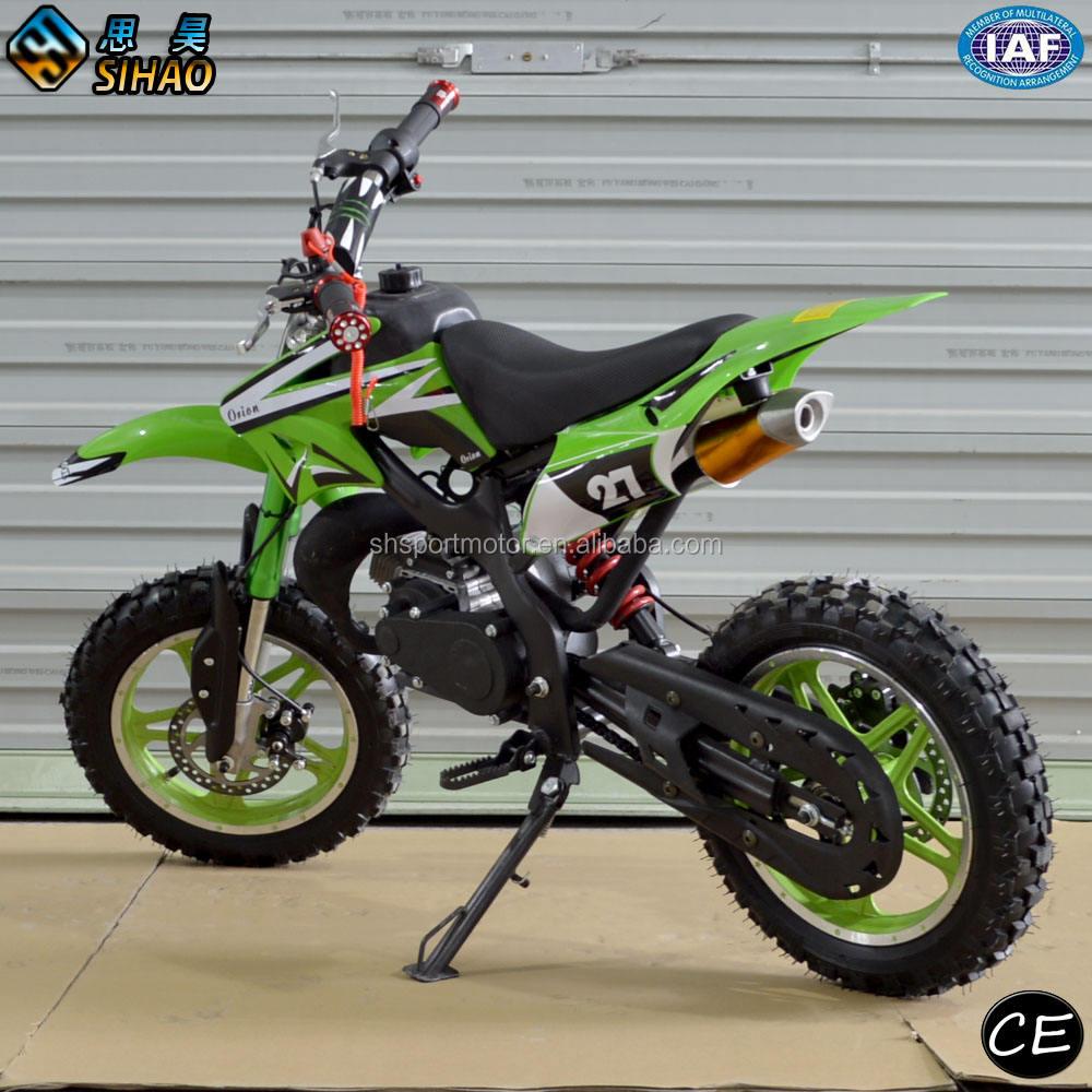 Gas mini dirt bike mini motocicleta de alta calidad para niños 49cc mini motocicleta
