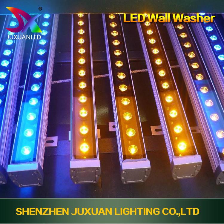 Супер бухты 36 Вт led шайба света водонепроницаемый открытый светодиодные утопленный свет цвет led wall washer освещения