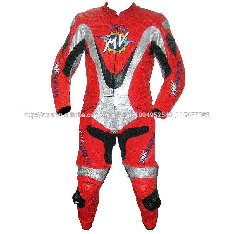 Кожа мотоцикл Гонки костюм Один костюм Два куска костюм На заказ Мужская байкер Кожа гонки костюм Новая модель