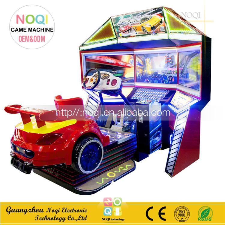 NQR-C21 كول تصميم القرن سفر سباق كامل الحركة 3d فيديو العاب لعبة تسلية آلة