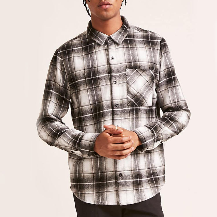 Одежда мужская Оксфорд рубашки для мужчин бизнес рубашки