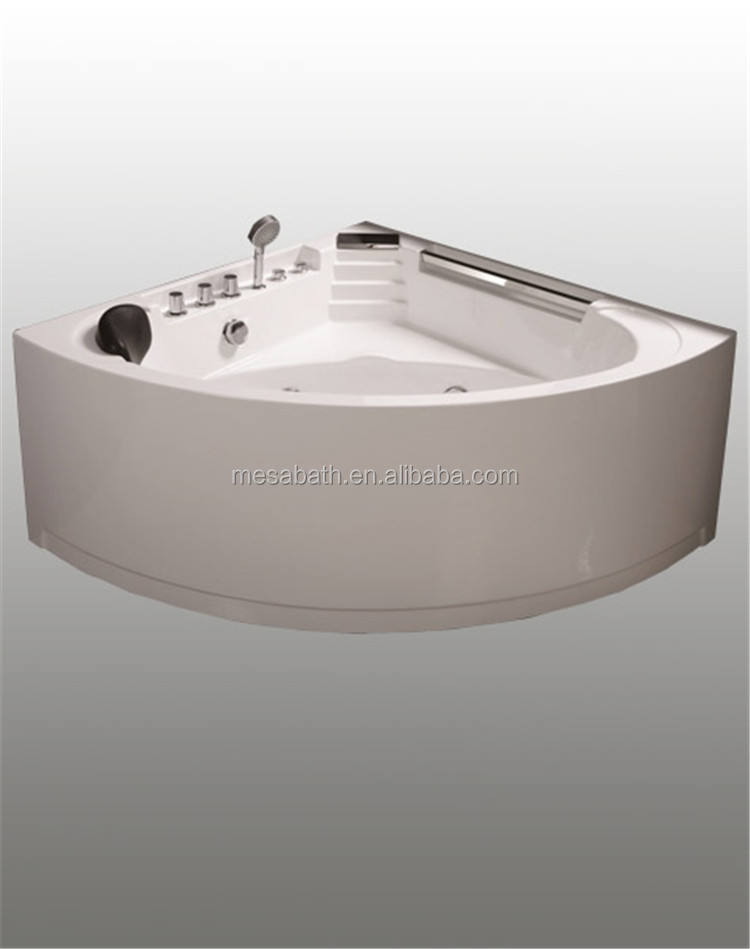 Esquina de acrílico 2 Persona acrílico masaje jacuzzi comprar profundo jet comprar bañeras con venta de aviones