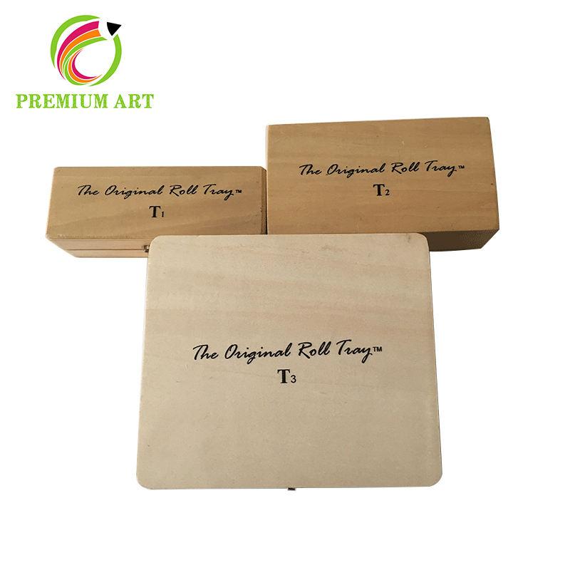 Notable calidad ronda comprar cajón pequeña caja de madera
