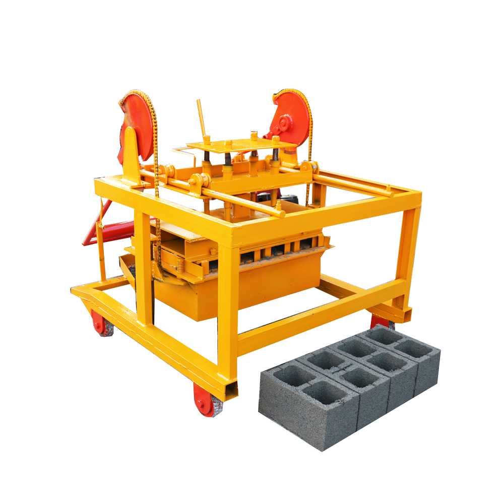 ghana hydraulic brick block making machine for sale