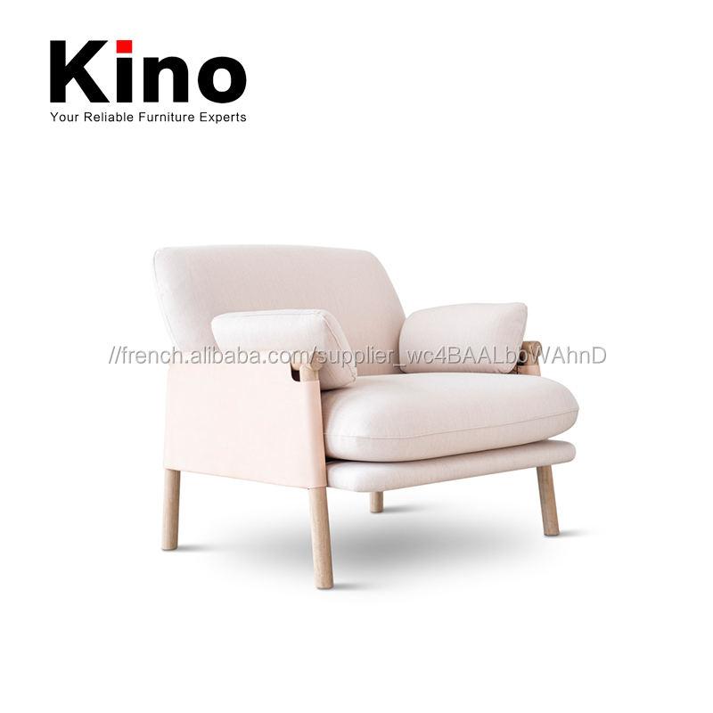 Moderne unique Italien en cuir fauteuil, cadre en bois massif tissu couverture <span class=keywords><strong>bureau</strong></span> meubles