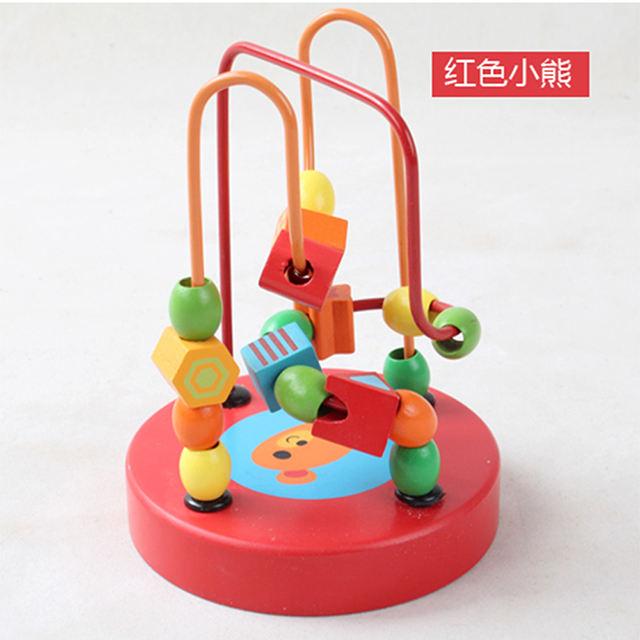 Rojo niños juguetes 2018 de los fabricantes alemanes de la montaña rusa de madera | juguete de madera laberinto
