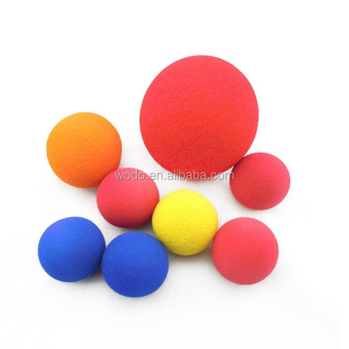 Различных размеров 6 P бесплатная безопасности пены eva крикет, теннис, бейсбол, гольф-дети пластико<span class=keywords><strong>в</strong></span>ые шарики игры
