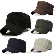 2021 Hot New Fashion Custom Army Cap Military Cap Round Cap Blank Plain Design Full Colored Wholesale