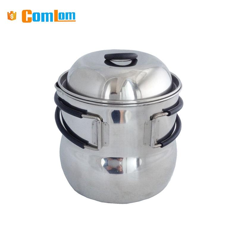Goodlooking 304 1 Litres en acier inoxydable camping pot