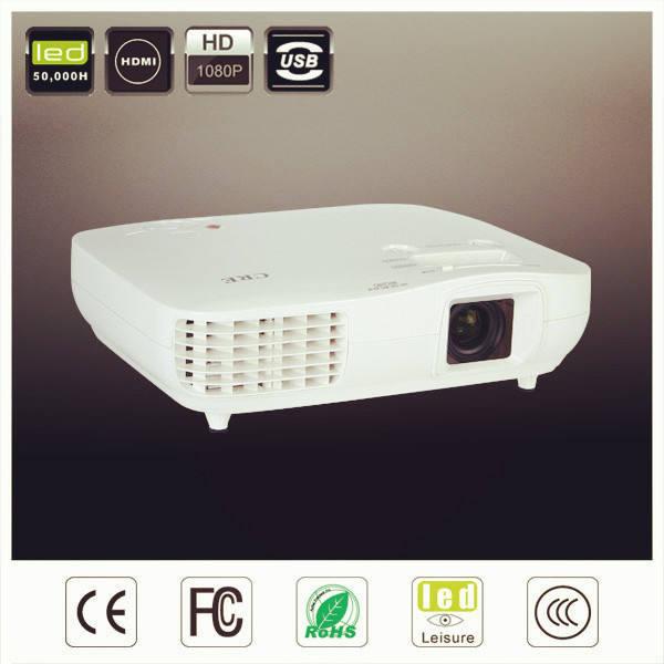 Premier rang 3000 lumens, multimédia. à faible coût portable lcd projecteur vidéo pour pc de table