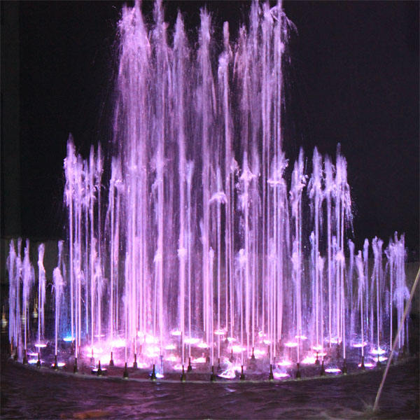 Outdoor Metal Water Dancing Music Fountain Design Price Pond Lake