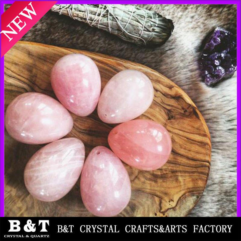 Средний Розовый Кварц Пробурено Аметист fun секс игрушки нефрита йони яйца