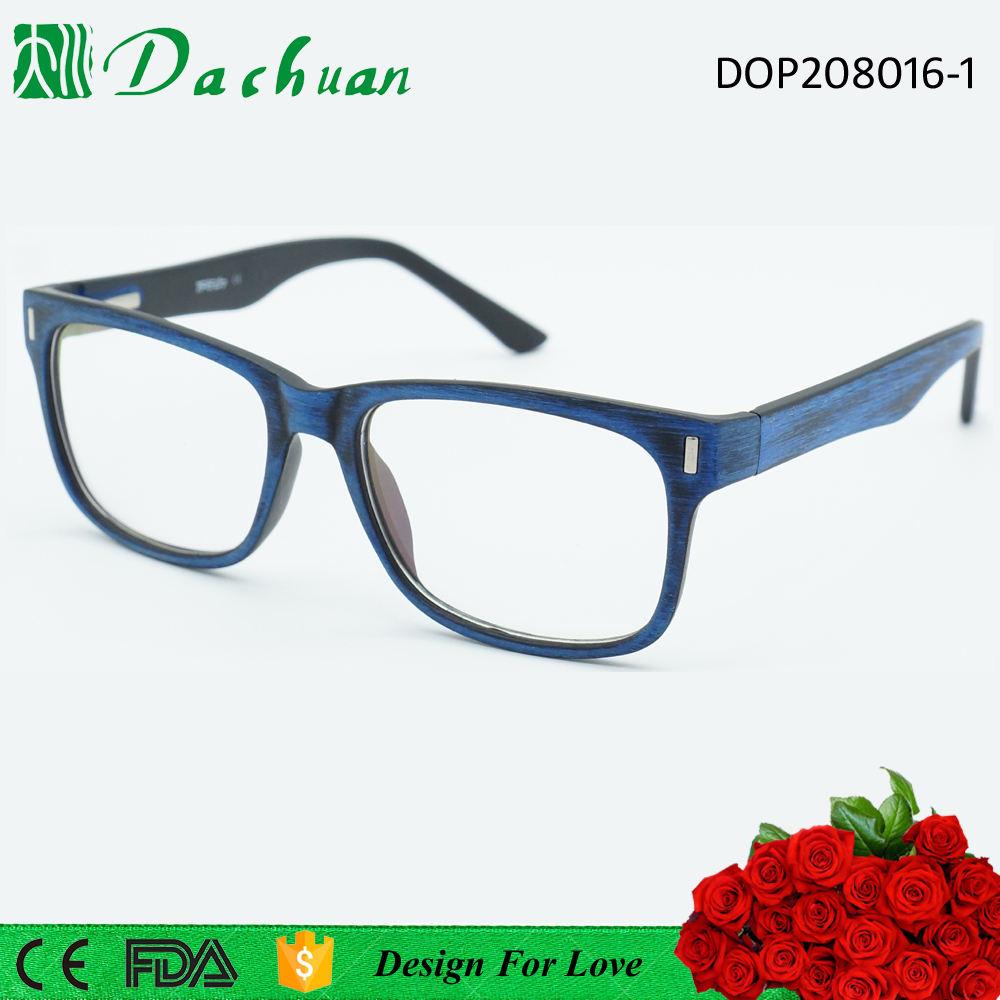 Moq bajo 2015 buena venta CP inyección copia gafas de acetato de madera cepillado